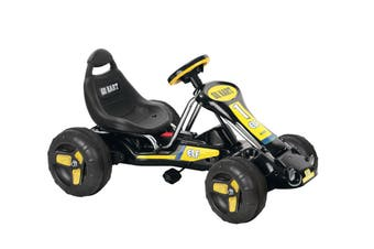 Kids Pedal Go Kart - Black