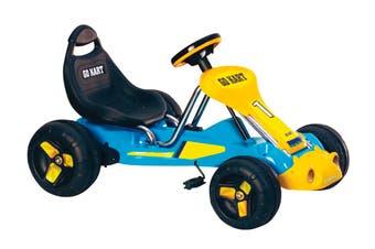 Kids Pedal Go Kart - Blue