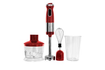 Healthy Choice Stick Mixer Set (Red)
