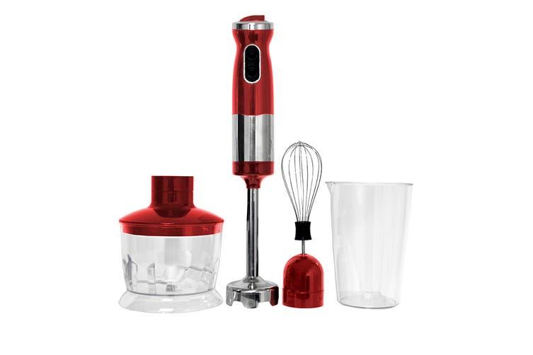 Healthy Choice Stick Mixer Set (Red)