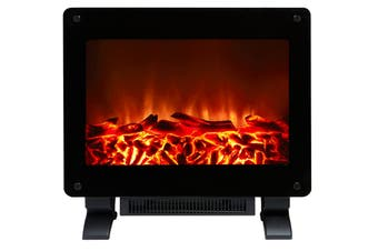 Lenoxx 1500W Electric Log Fire Heater