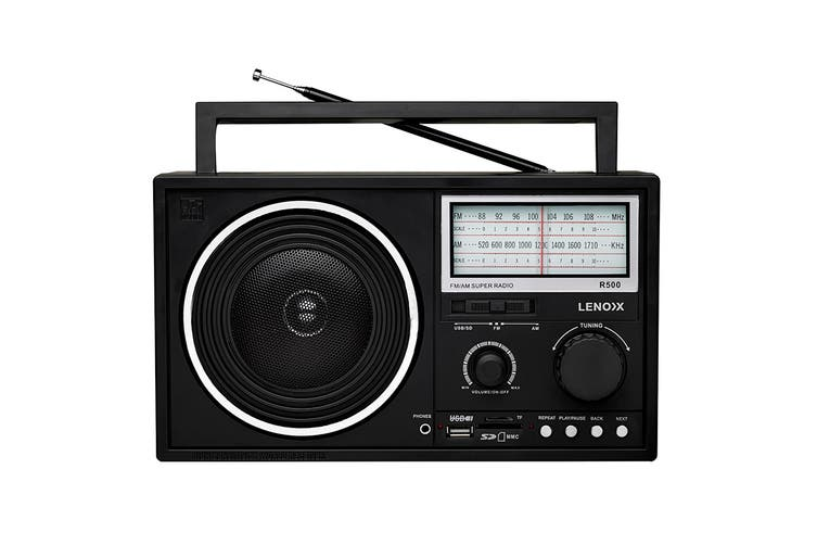 Lenoxx AM/FM Super Radio
