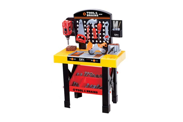 DIY Kids Tool Bench Playset