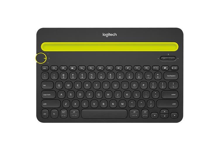 Logitech K480 Bluetooth Multi Device Keyboard - White (920-006381)