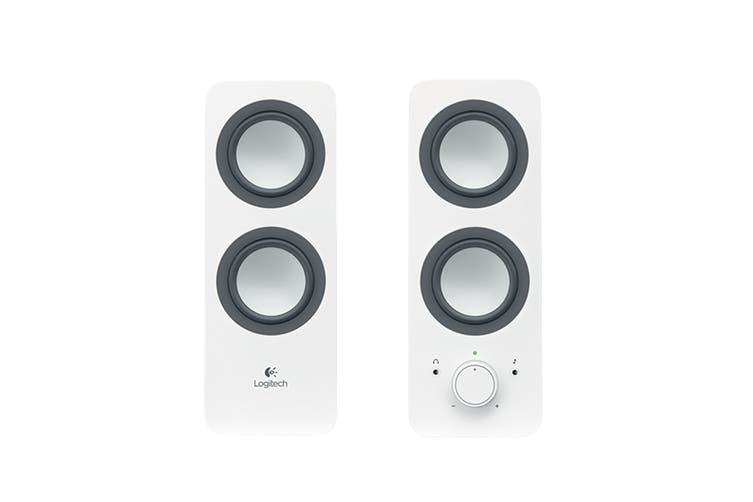 Logitech Z200 Multimedia Speakers - White (980-000851)