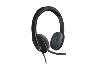 Logitech H540 USB Headset - Black (981-000482)