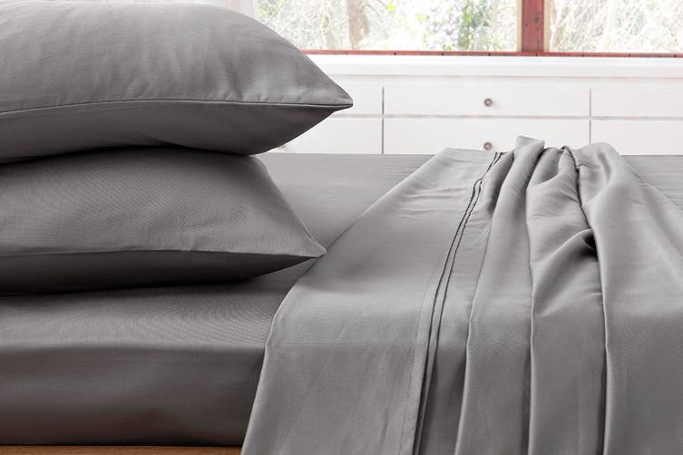 Ardor 1000TC Luxury Sheet Set (Queen, Charcoal)