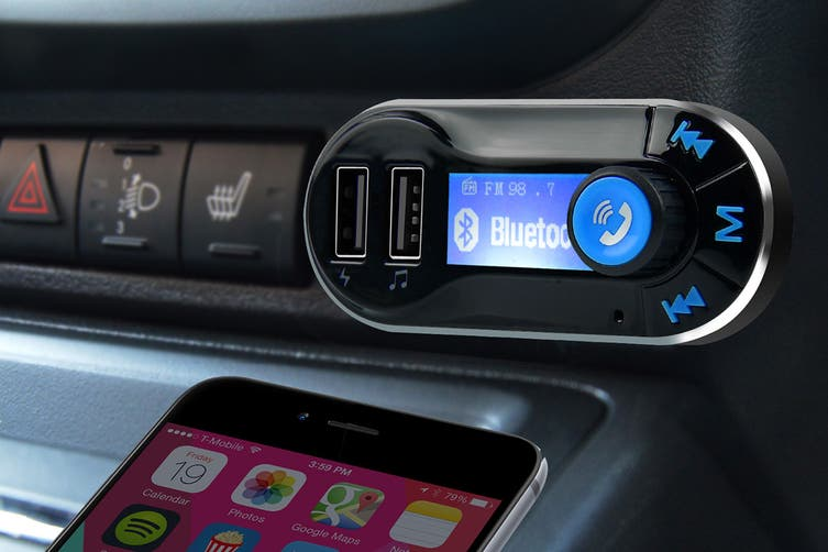 mbeat Bluetooth Hands Free Car Kit with 2.1A Charging Port (MB-BT300)