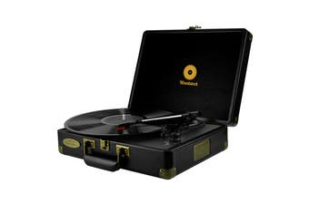 mbeat Woodstock Retro Turntable - Black (MB-TR89BLK)