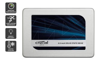 """Crucial 275GB MX300 SATA 2.5"""" 7mm with 9.5mm adapter SSD (CT275MX300SSD1)"""