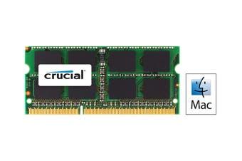 Crucial 8GB DDR3 1333 MT/s (PC3-10600) CL9 SODIMM 204 Pin 1.35V/1.5V for Mac