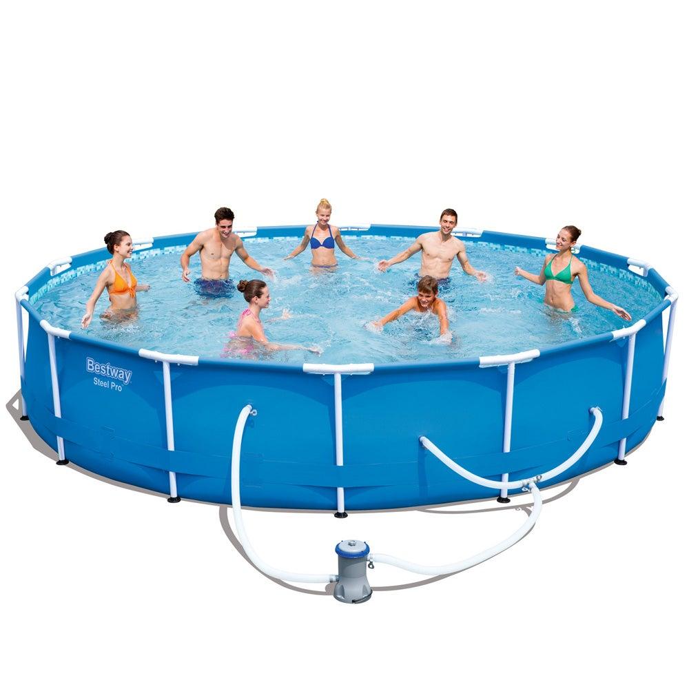 Kogan Bestway Steel Pro Round Frame Pool 84cm Compare Club