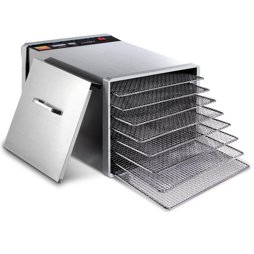 Stainless Steel Food Dehydrator 8 Trays