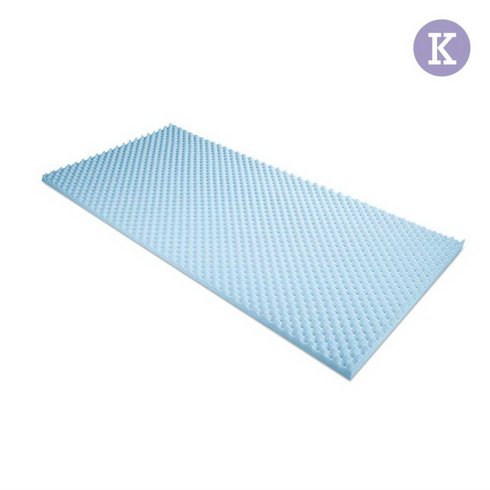 Gel Infused Egg Crate Mattress Topper (King)