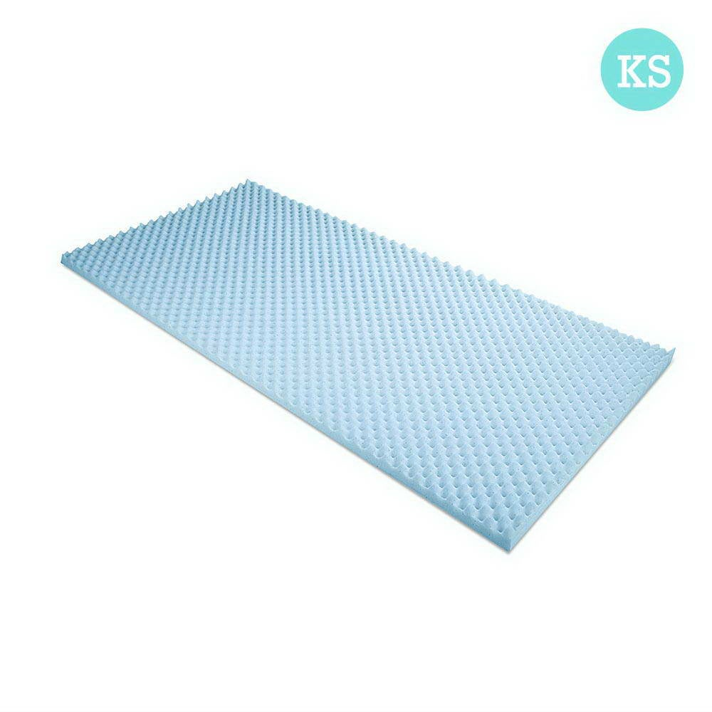 Gel Infused Egg Crate Mattress Topper (King/Single)