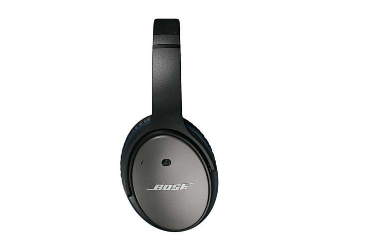 Bose QuietComfort 25 Acoustic Noise Cancelling Headphones for Apple Devices (Black)