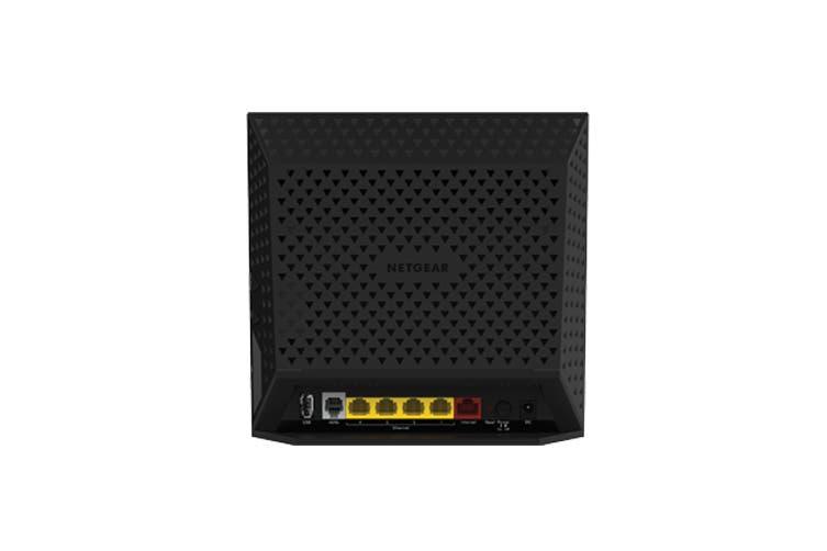 Netgear AC1600 Dual Band Gigabit WiFi Modem Router (D6400)