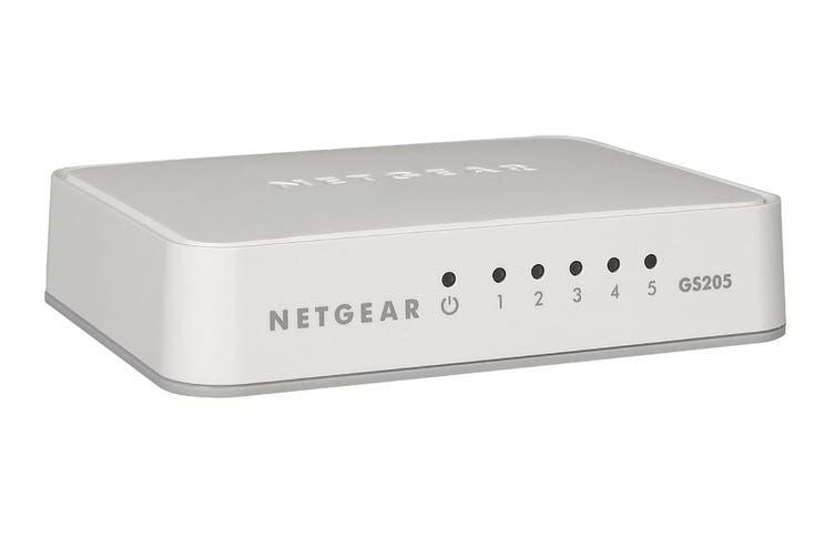 Netgear 5-Port Gigabit Switch (GS205)