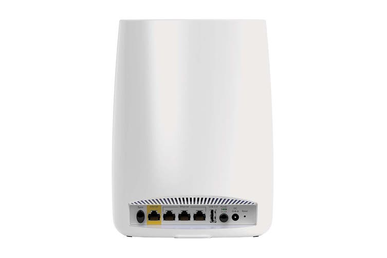 Netgear Orbi Mesh Router Wifi System High-Performance AC3000 Tri-band with 4 Port Ethernet Wireless Satellite (RBK50)