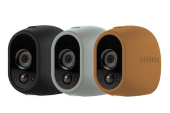 Arlo Replaceable Multi-colored Silicone Skins - Brown, Black, Grey (VMA1200D-10000S)