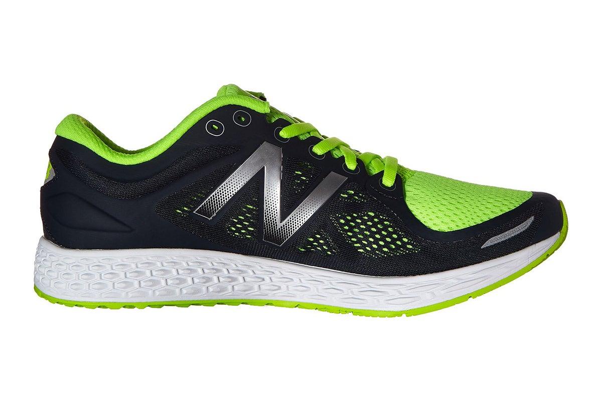 View more of the New Balance Men's Fresh Foam Zante v2 Running Shoes (Black/Green, Size 10)