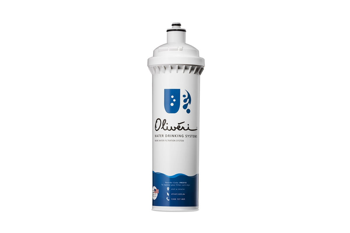 Oliveri Inline Water Filtration Replacement Cartridge For Standard Water Use (FR5910)