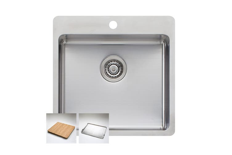 Oliveri Sonetto Large Bowl Topmount Sink (SN1051)