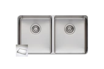 Oliveri Sonetto Double Bowl Undermount Sink (SN1063U)