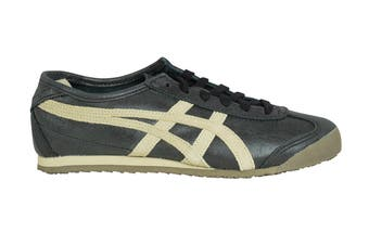 Onitsuka Tiger Mexico 66 Shoe (Black/Feather Grey, Size 6.5)
