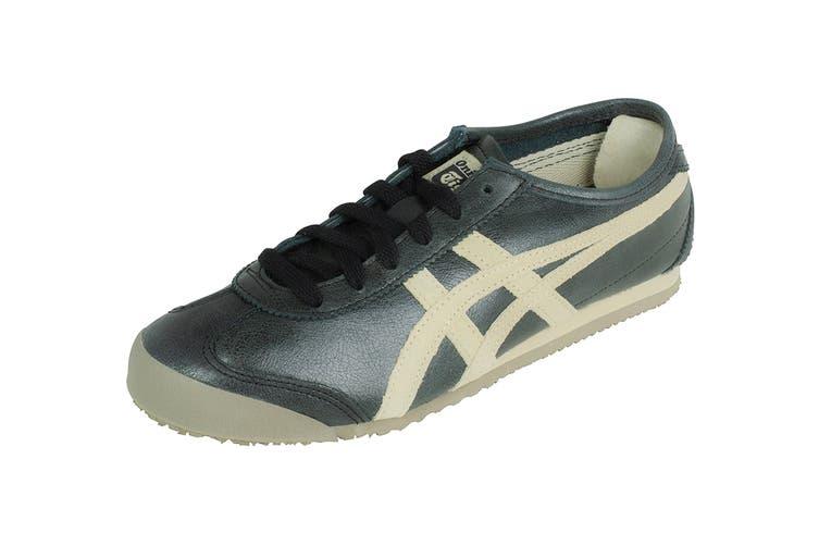 Onitsuka Tiger Mexico 66 Shoe (Black/Feather Grey, Size 7.5)