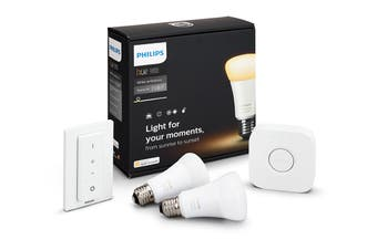 Philips Hue White Ambience E27 Starter Kit