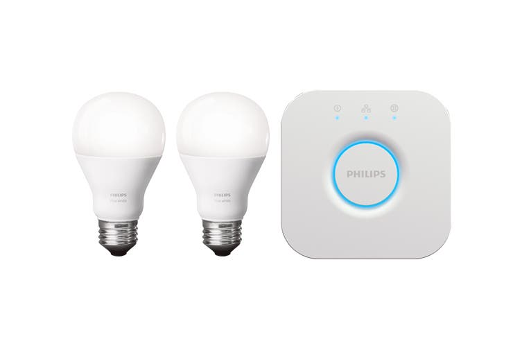 Philips Hue White E27 Starter Kit (2 x Bulbs)