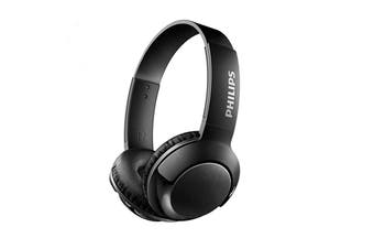 Philips BASS+ On-Ear Bluetooth Headphones (SHB3075BK)