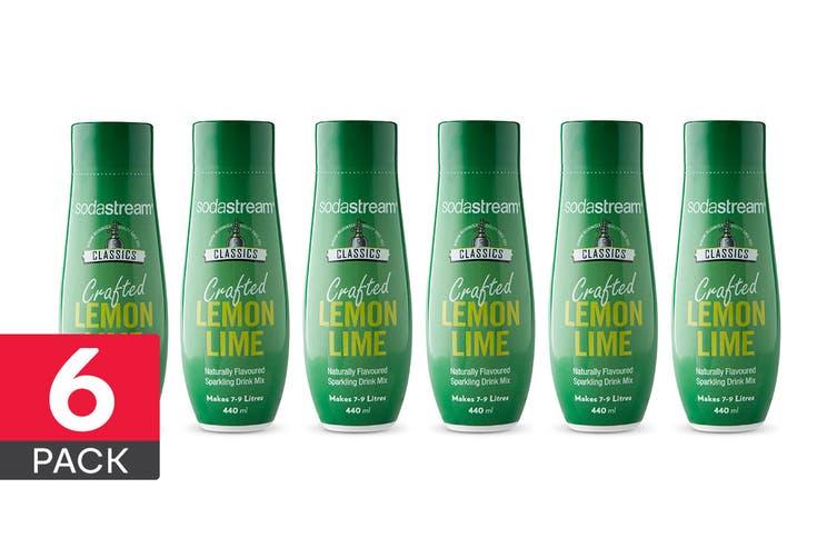 SodaStream Classic Lemon Lime (6 Pack)
