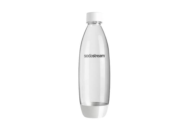 SodaStream Twin Pack 1L Fuse Carbonating Bottles (White)