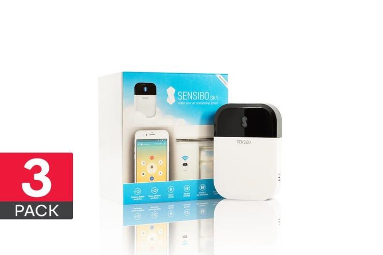 Sensibo Sky - Smart Air Conditioner WiFi Controller (White, 3 Pack)