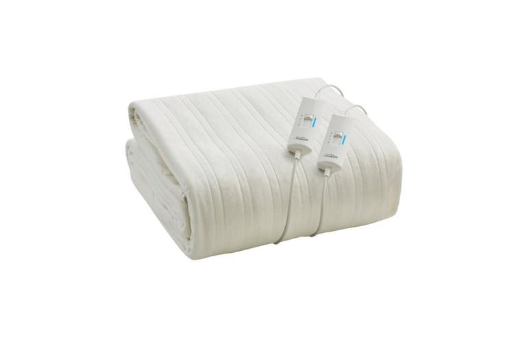 Sunbeam Sleep Express Fitted Heated Electric Blanket - Queen (BL4851)