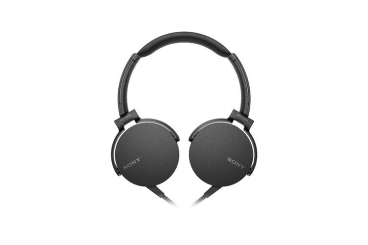 Sony Extra Bass Headphones - Black (MDRXB550APB)