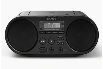 Sony CD Boom Box With USB Connection (ZSPS50)