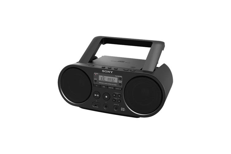 Sony CD Boombox With USB & DAC (ZSPS55B)