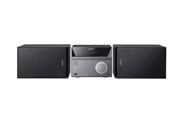 Sony Bluetooth CD/DVD/FM Tuner Micro Hi-Fi System with USB