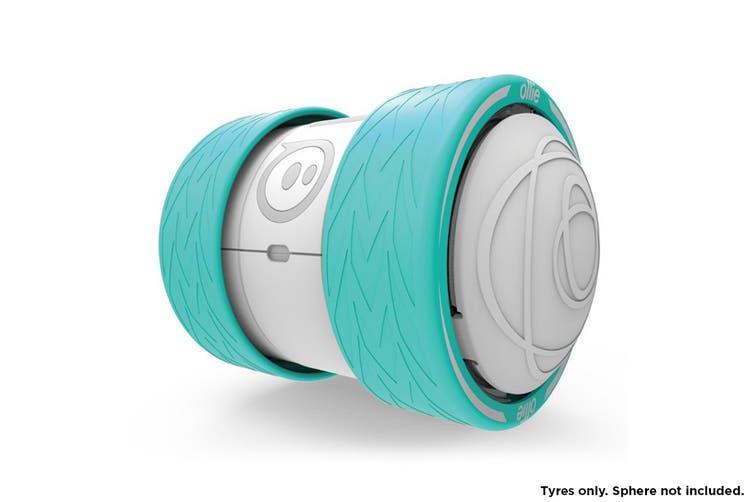 Sphero Ollie Turbo Tyres (Teal)