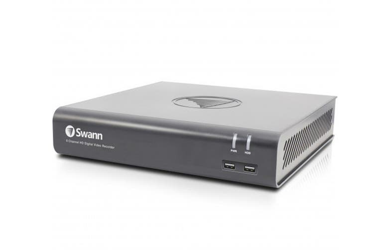 Swann 8 Channel 1080p 1TB DVR with 8 x PRO-1080MSB Thermal Motion Sensing Cameras and Google Assistant (SWDVK-845808V)