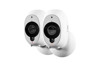 Swann Wire-Free 1080p Smart Security Camera - 2 Pack