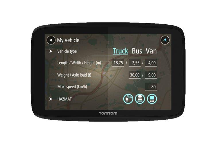 """TomTom GO PROFESSIONAL 620 6"""" GPS Navigation System (1PN6.106.01)"""