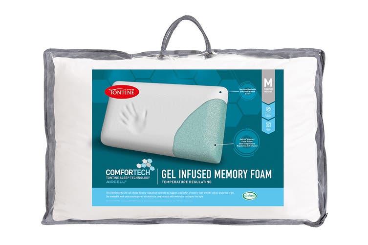 Tontine Comfortech Gel Infused Memory Foam Pillow