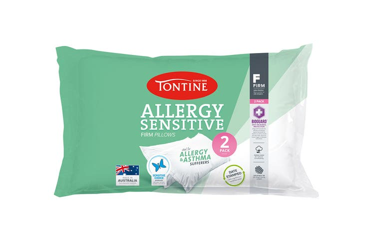 Tontine Allergy Sensitive Pillow 2-Pack (Firm)