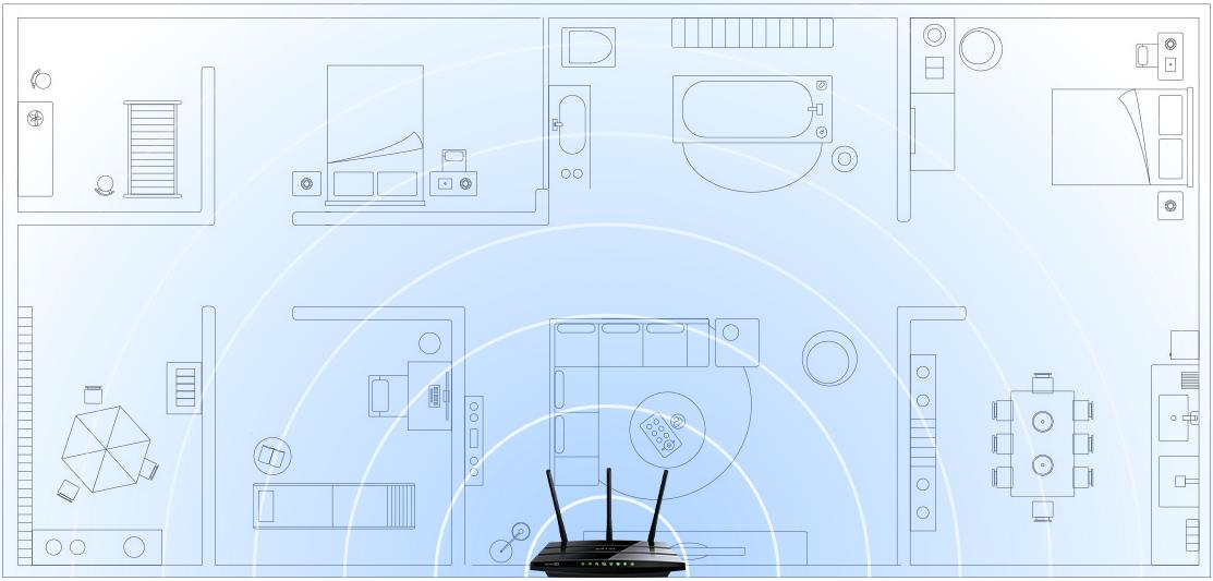 Archer C1200 Wi-Fi Coverage