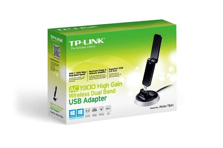 TP-Link Archer T9UH AC1900 High Gain Wireless Dual Band USB Adapter (TL-ARCHERT9UH)