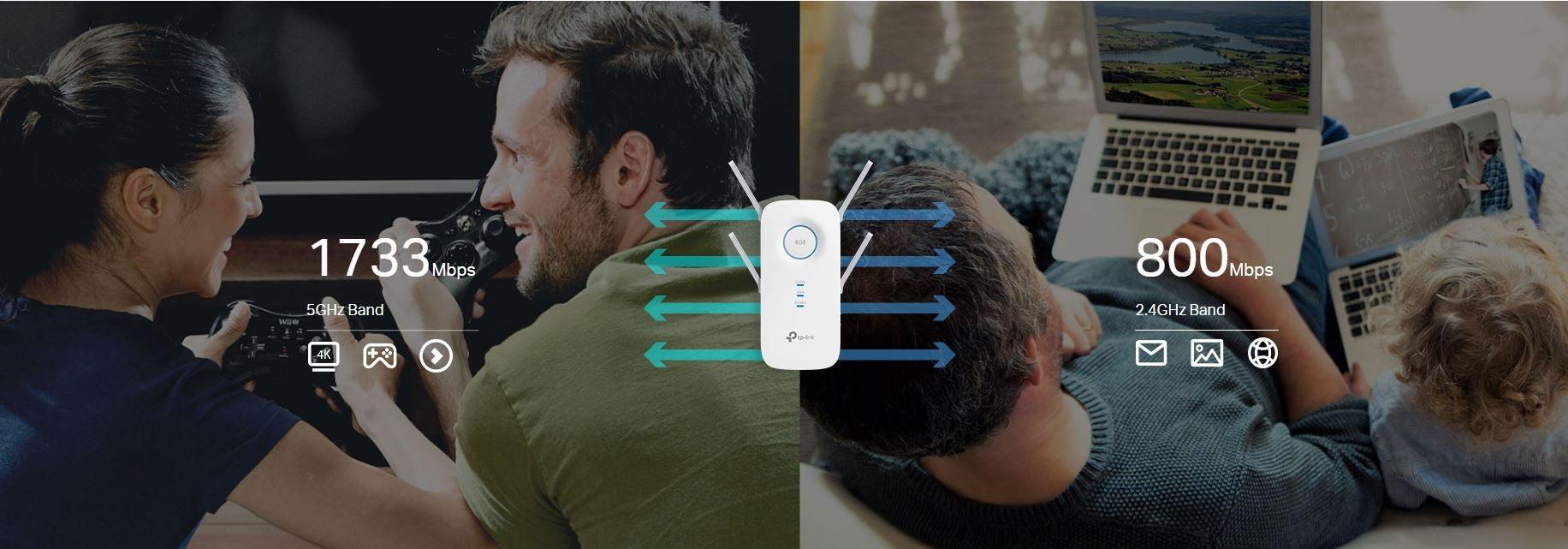 4-Stream AC2600 Dual Band Wi-Fi